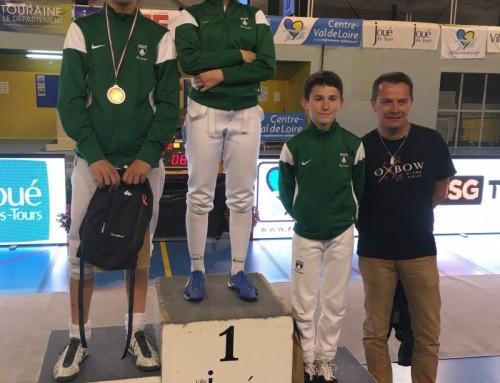 Garance Baylaucq vainqueur à Joué Les Tours