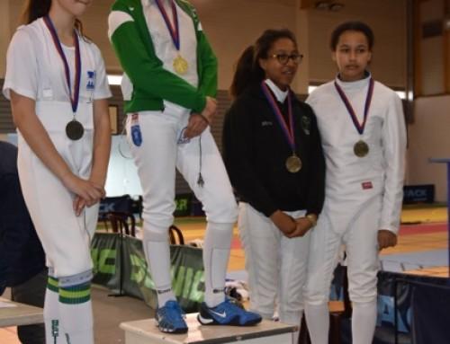 Championnats d'Aquitaine individuels Sabre