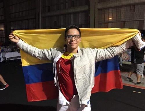 Un Sectionniste vainqueur des Jeux Bolivariens !!