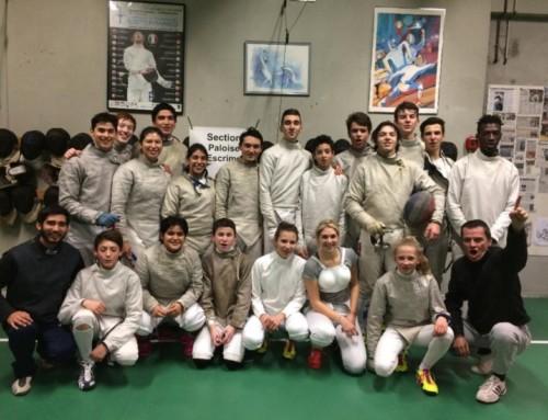 L'équipe du Chili en visite à Pau