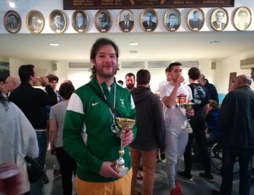 Julien Diaz vainqueur à Bayonne