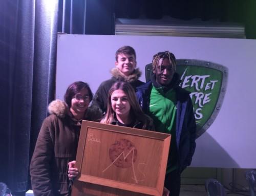 Eliott Bibi élu sportif palois de l'année