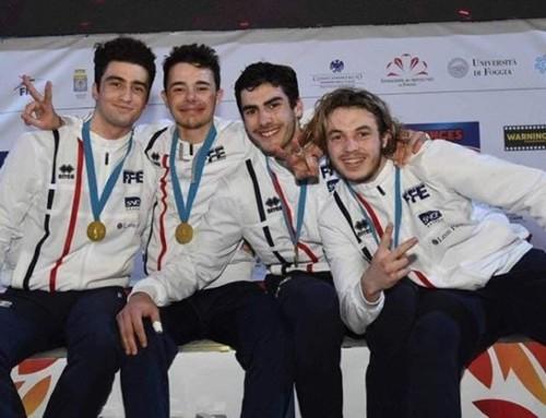 Eliott Bibi Champion d'Europe par équipe