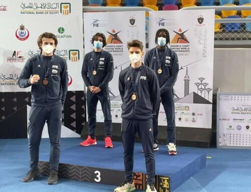 Sam et Paco médaillés de bronze aux championnats du monde