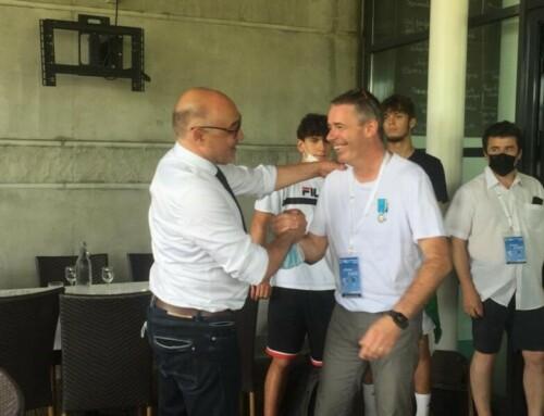 Notre Président Benoit Allias décoré de la médaille d'argent de la jeunesse et des sports