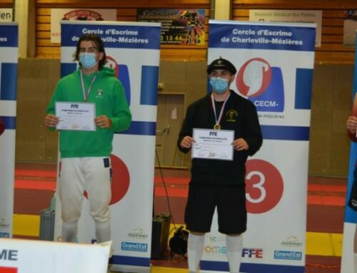 Les juniors Champions de France
