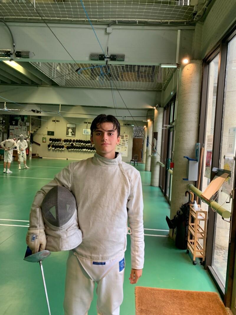 Tom Couderc rejoint le Crefed de Pau